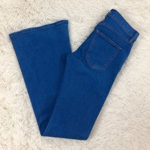 Current Elliott The Low Bell Bottom Flare Jeans 27